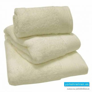 Egyptian Cotton Towels - Luxury 600gsm Towels in Cream