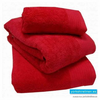 Egyptian Cotton Towels - Luxury 600gsm Towels in Red