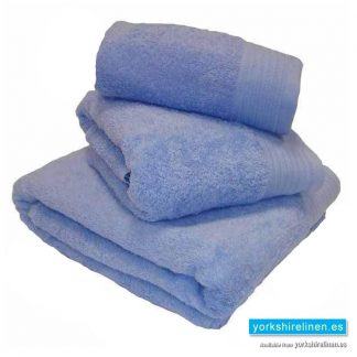 Luxury Blue Egyptian Cotton Towels