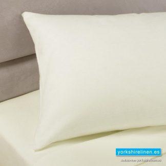 Cream Bolster Pillowcases