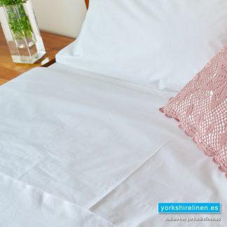 Egyptian Cotton 1000 TC Flat Sheet - White