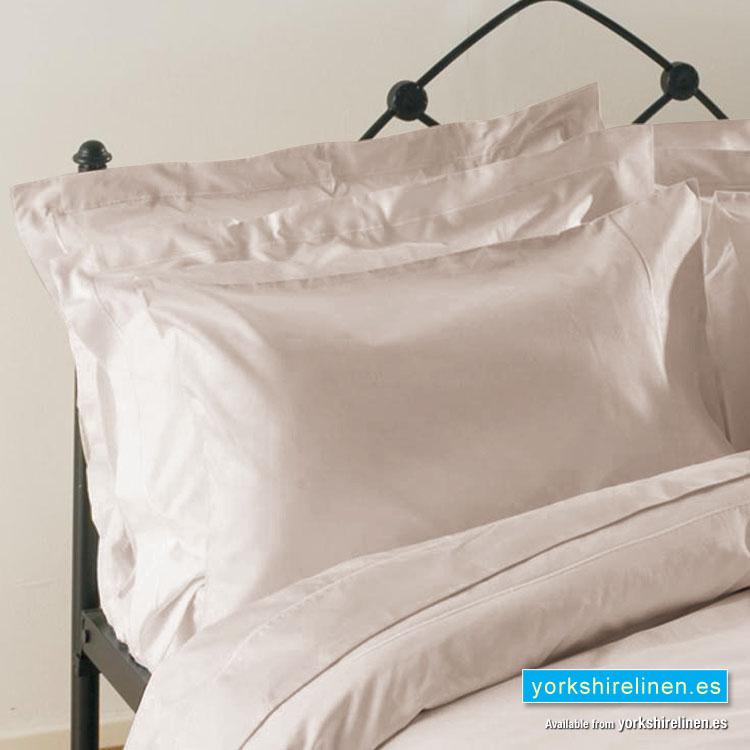 Egyptian Cotton 200 Tc Oxford Pillow Cases Oyster