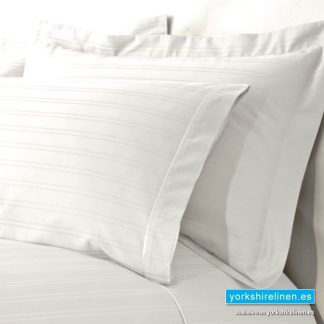 Hotel Stripe Oxford Pillow Cases, 540 Thread Count, Ivory