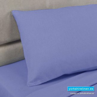 Lagoon Blue Pillowcases, Polycotton Percale