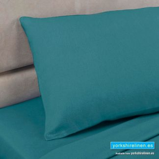 Polycotton Percale Fitted Sheets, Teal