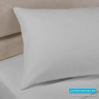 Polycotton Percale Pillowcases Grey