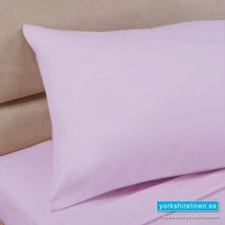 Polycotton Percale Pillowcases - Pink