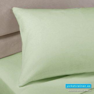 Polycotton Percale Pillowcases - Thyme