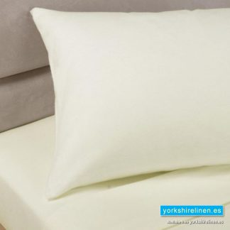 Polycotton Pillowcases, Ivory White