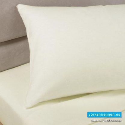 Polycotton Pillowcases, Ivory White