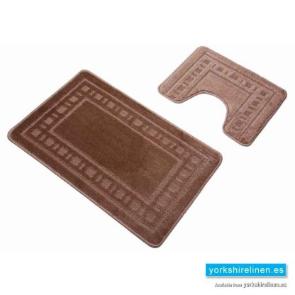 Armoni Biscuit Bath Mat Set