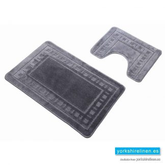 Armoni Grey Bath Mat Set