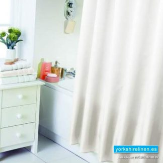 Waterline Cream Shower Curtain