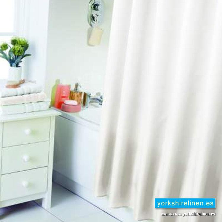 Waterline Cream Shower Curtain