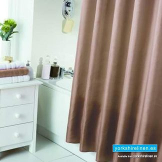 Waterline Latte Shower Curtain