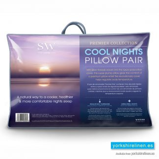 Cool Nights Pillow, Pair