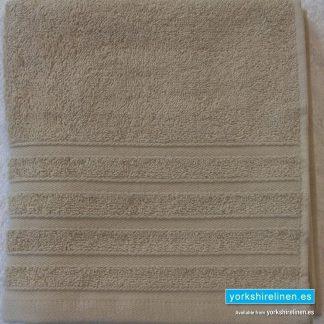 Diamond Biscuit Beige Cotton Towels