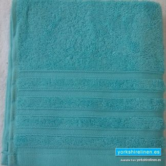 Diamond Bright Turquoise Cotton Towels