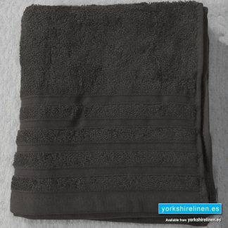 Diamond Charcoal Grey Cotton Towels