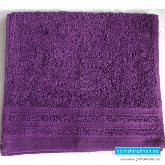 Diamond Grape Purple Cotton Towels