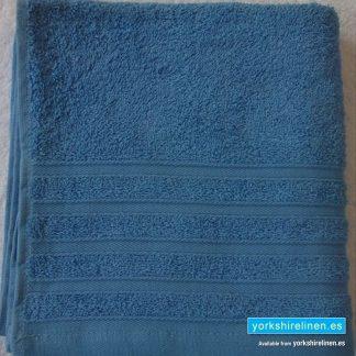 Diamond Powder Blue Cotton Towels