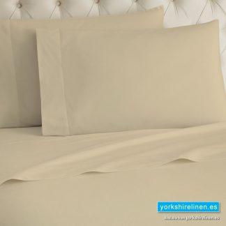 Latte Flannelette Flat Sheet