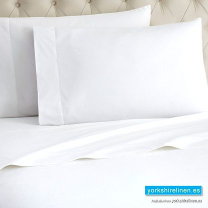 White Flannelette Housewife Pillowcase
