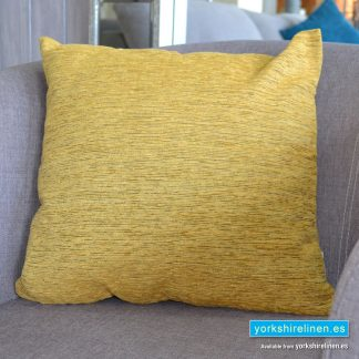 Chenille Gold Brown Cushions