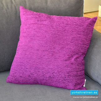 Chenille Basic Lilac Cushions