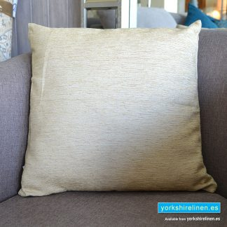 Chenille Basic Natural Cushions