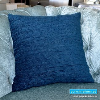 Chenille Basic Navy Blue Cushions
