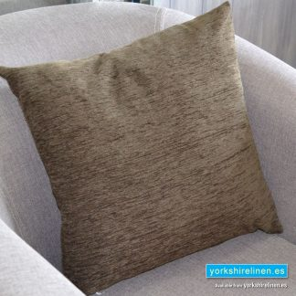 Chenille Basic Rope Brown Cushions