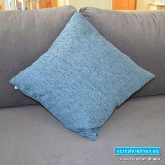 Chenille Basic Sapphire Blue Cushions
