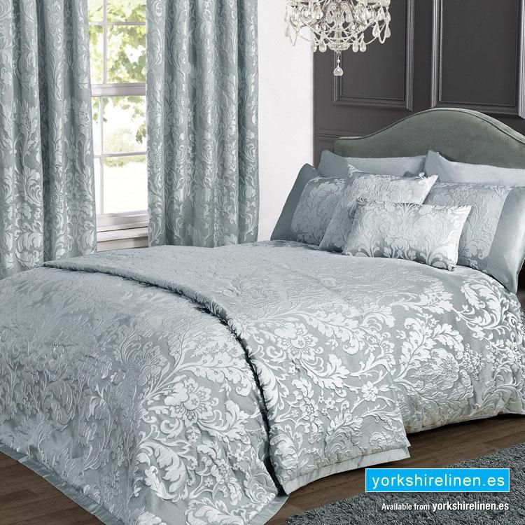 Charleston Jacquard Duvet Cover Set Duck Egg Yorkshire Linen Beds And More