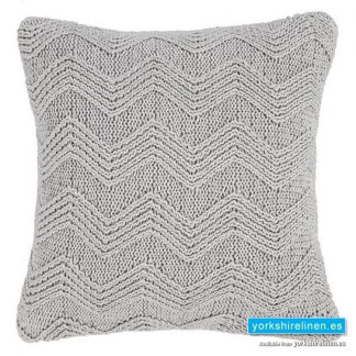 Bianca Cottonsoft Knit Grey Cushion