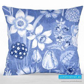 Daffodil Blue Cushion