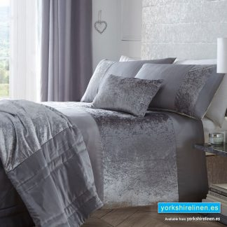 Boulevard Grey Duvet Cover Set - Bedding from Yorkshre Linen Spain