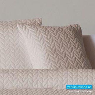 Espiga Beige Cushion - Bed Linen from Yorkshire Linen Warehouse Spain