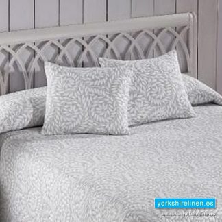 Olimpia Grey Cushion, Yorkshire Linen, Mijas and Marbella, Spain