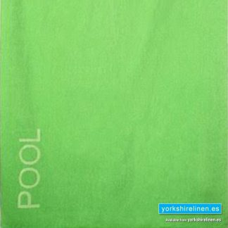 XL Beach Towel, Lime Green