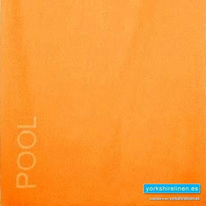 XL Beach Towel, Orange