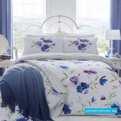 Celestine Blue Duvet Cover Set from Yorkshire Linen SL, Fuengirola Marbella Online