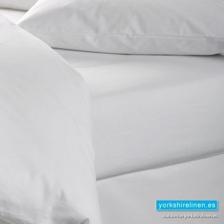White 100% Cotton Flat Sheet