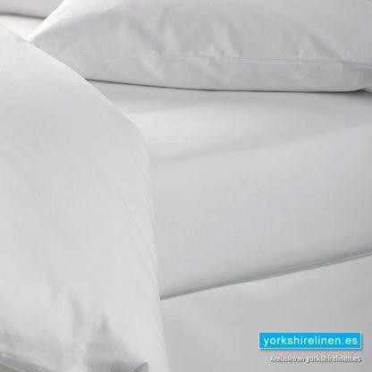 White 100% Cotton Flat Sheet