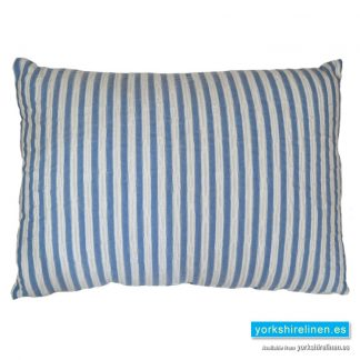 Bambu Cotton Rich Cushion, Blue