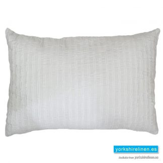 Bambu Cotton Rich Cushion, White
