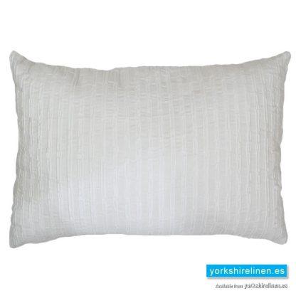 Bambu Cotton Rich Cushion, White