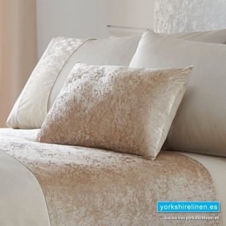 Boulevard Oyster Cushion from Yorkshire Linen Spain
