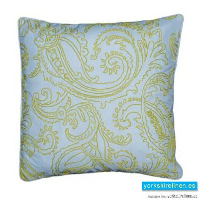Kiera Complete Cushion, Lime Green