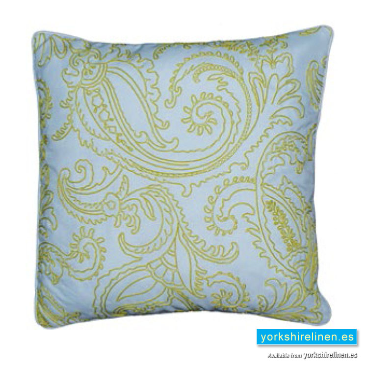 kiera complete cushion lime green yorkshire linen. Black Bedroom Furniture Sets. Home Design Ideas